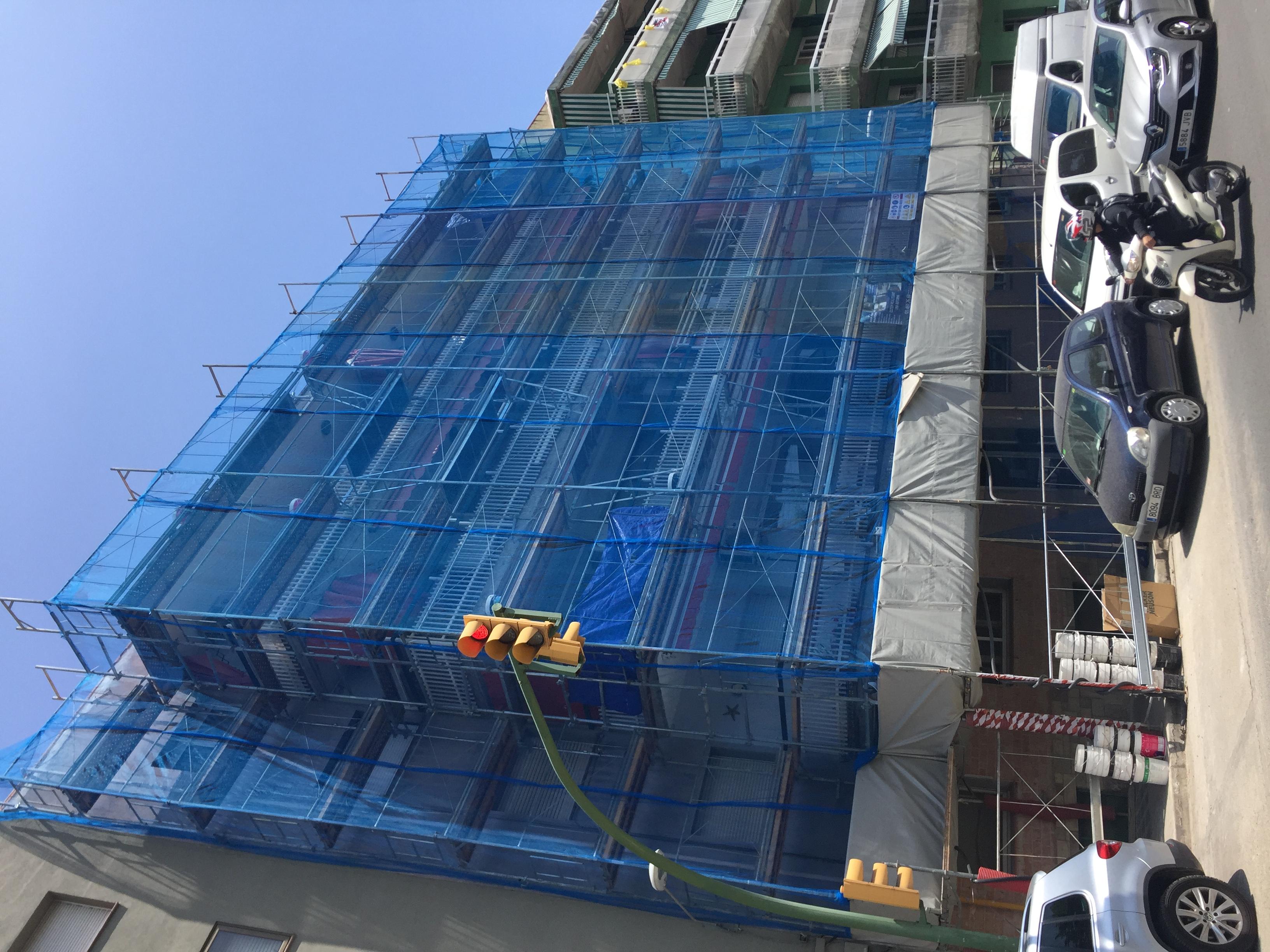 Reparació façana